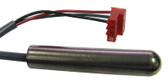 GECKO | TEMP SENSOR, MSPA-1, MSPA-4, TSPA, 25' CABLE  4 PIN RED PLUG, OUTSIDE PIN TO TO BLACK WIRE IS PLUGGED | 9920-400245