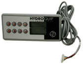 "HYDROQUIP | HT-2 RECTANGLE  USED WITH 8000, 8400, 8600, 9400 SERIES 7"" x 3 1/4"" 8 PIN, 10' CORD 