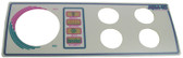 LEN GORDON | FACEPLATE LABEL, 4 BUTTON | 930244-401