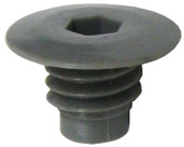 CUSTOM MOLDED PRODUCTS | AIR CHANNEL INJECTOR, GRAY | 23031-001-000