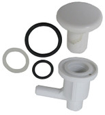 "WATERWAY | 3/8"" BARB, ELL AIR, INJECTOR, WHITE 