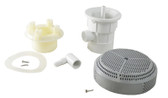 BALBOA | COMPLETE SUCTION FITTING, LT GRAY | 90146-LG