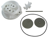 A & A MANUFACTURING   TOP FEED BALL VALVE KIT B, 5 PORT   522917