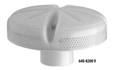 "WATERWAY | 6"" WITH 2-1/2"" THREADED WALL FITTING 215-8230, WHITE 640 