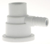 "CUSTOM MOLDED PRODUCTS | BODY, 3/8"" BARB AIR, 1/4"" SLIP WATER 