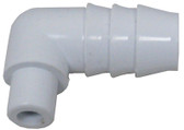 "CUSTOM MOLDED PRODUCTS | ADAPTER, 1/4"" SPG X 3/4"" BARB 