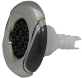 CUSTOM MOLDED PRODUCTS   WAVE, MASSAGE, GRAPHITE GRAY, STAINLESS    23445-142-700