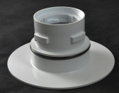 A & A MANUFACTURING CLEANING HEADS   TURBO CLEAN ADAPTOR ONLY, WHITE   522212