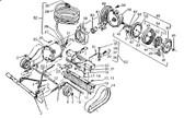 AQUA PRINCE | CLAMP, MOTOR SS | 1511
