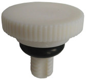"KING NEW WATER FEEDER | KNOB, 1/4"" STEM W/O-RING('91 & PRIOR) 