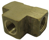 "PENTAIR | TEE, 1/4"" BRASS FPT 