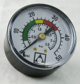 "ASTRAL CANTABRIC | PRESSURE GAUGE 1/8"" BACK MOUNT 