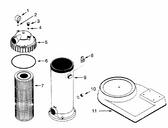 PENTAIR   DE filter module 14 sq ft - PRD55   25200-0160S