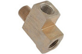 "PENTAIR | TEE, 1/4"" BRASS 
