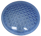 PENTAIR/AMERICAN PRODUCTS | Lens , med . blue , 8 3/8 in . dla ., tempered | 79100200