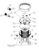 ASTRAL 2500 TERRA & CEL FILTER | BODY FOR 2505ANT & 25030E (GRAY) | 18224R0002