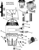 PENTAIR |  filter assy (s8d110) complet | 23900-1221S