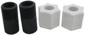 "STENNER | LEAD TUBE ADAPTER W/NUT, 3/8"" | UCADPTR"