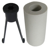 "STENNER | CLAY LEAD TUBE WEIGHT W/FERRULE & NUT 1/4"" | UCMACW0"