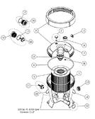 ASTRAL 2500 TERRA & CEL FILTER | REDUCING BUSHING | 18113R0002