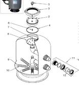 "WATERCO | 2"" valve for 2"" bulkheads | 2290590p"