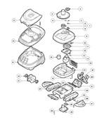 HAYWARD | POOLVAC XL SKIRT ASSEMBLY | AXVU015