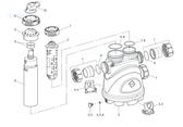 ZODIAC   VESSEL W/ FLOW MANAGEMENT SYSTEM, NATURE2 FUSION,INGROUND   R0501600
