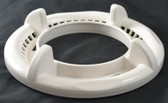 WATERWAY | 4-SCALLOP TRIM RING - HIGH VOLUME – WHITE | 519-8050