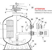 "BAKER HYDRO | Winterdrain Assy . HRV 30"" | 16B0307"