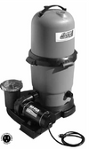 WATERWAY | COMPLETE PUMP & CARTRIDGE FILTER, 75 SQ FT CLEARWATER II, 1 HP HI-FLO, 115V, 2-SPEED, 6' NEMA CORD | 522-5107-6S