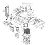 PENTAIR   730 Cable Assy   P12126