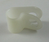"AQUA PRODUCTS | P-CLIP (1/4"", Plastic) - For securing the non-foam-insulated part of a 2-wire cable to the Body 