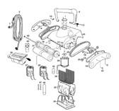 PENTAIR   Axle for Wheel Tube Assy   P12138