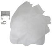POLARIS | DISPOSABLE FILTER BAG WITH COLLAR (PACK OF 3) | K12