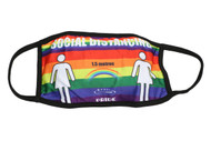 Pride Cloth Face Mask - Female - Rainbow