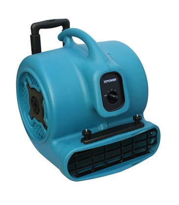 1HP MULTIPURPOSE AIR MOVER WITH WHEELS AND LUGGAGE HANDLE (X-800HC)