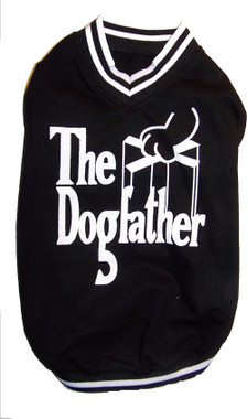"""The DogFather"" doggie t-shirt"