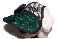 Dog Hat 528 Green Lagoon