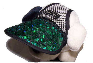 Dog Hat 528 Green Lagoon