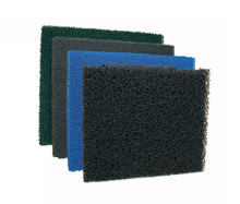 FEATURES  •Aquarium Wet/Dry Filters •Aquarium Overflow Chambers •Biological Filters •Pressurized Filters •Aquaculture Systems •Waste Water Systems •Pond Filters •Available in 4 Mesh Sizes 39″ x 24″ x 1 1/2″ and 19 1/2″ x 24″ x 1 1/2″
