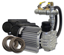 "1/3 HP Rotary Vane Compressor, 8.5"" L X 6.2"" W X 7.2"" H, 2.1 Amps, 115V 60hz (MRV-30)"