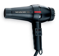 TWIN TURBO POWER 2600 PROFESSIONAL HAIR DRYER MADE IN ITALY