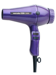 TWIN TURBO POWER 3200 PROFESSIONAL HAIR DRYER PURPLE MADE IN ITAL