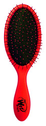 THE WET BRUSH METALLIC COLLECTION DETANGLING BRUSH RED