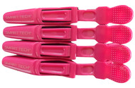 "Smart Tech Lock Tight Clips "" Hot Pink"" 4 Pack"