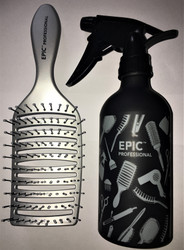 Epic Quick Dry Silver Bonus Free Spray Bottle Combo set