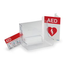 Philips - 861477 AED Wall Mount and Signage Bundle