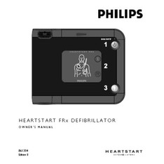 Philips HeartStart FRx Owner's Manual - 989803138731