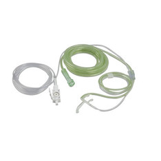 Philips CO2 / O2 Oral-Nasal Cannula for pediatric applications, Intellivue sidestream monitoring supplies, disposable, non-intubated - M2761A