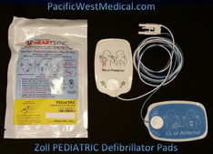 Zoll Pediatric Defibrillator Pads - Pediatric Zoll HeartSync